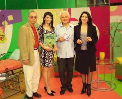 Tintin team on the Armenian TV