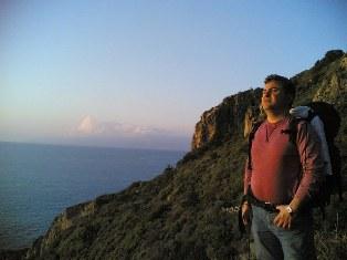 Rafi Balji, a tourist in Kessab