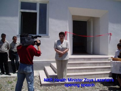 Tufenkian Foundation unveils new health clinic in Karabakh's Lachin District