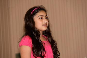 Youngest participant, Sophene H. Kevorkian, Age 8