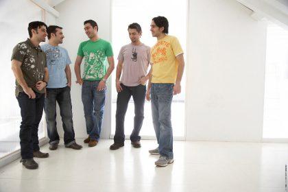 Iraqi boy band launch invasion of British charts