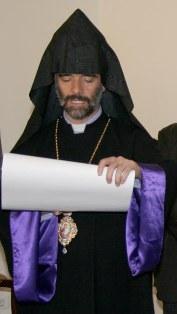 Bishop Shahan Sarkissian from Aleppo