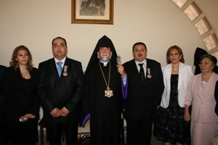 Vartanian brothers from Der Zor honored for their generosity