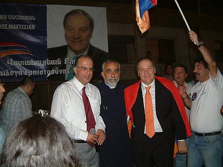 TWO ARMENIAN MEMBERS OF PARLIAMENT IN CYPRUS