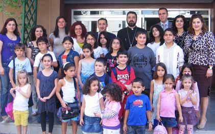 Beginning of new school year in Abu Dhabi