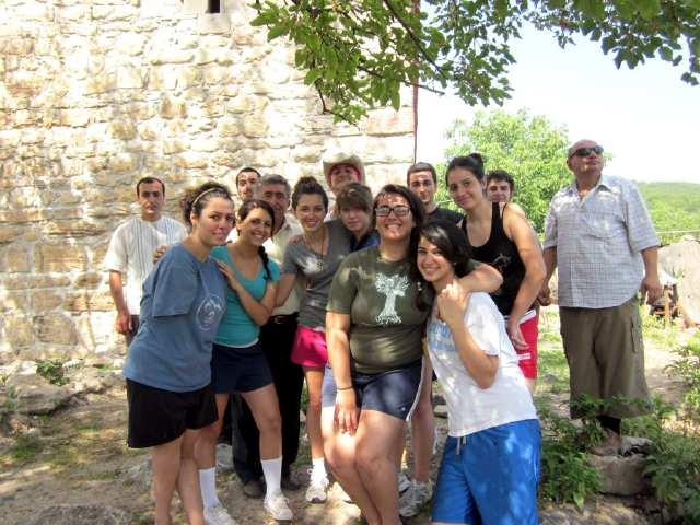Volunteers in Rural Armenia