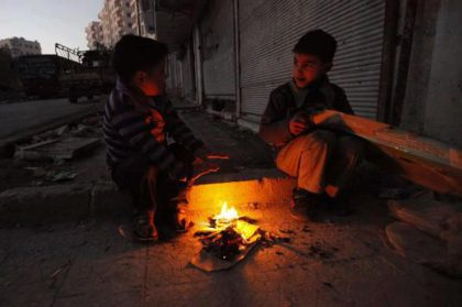 Unhappy start of 2013 in the city of Aleppo