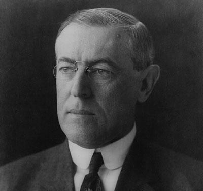 Remembering President Woodrow Wilson
