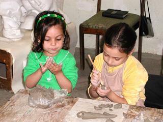 Children with special needs grow through art