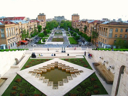 Yerevan at daytime