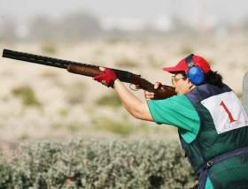 Yerjanik Avetisian wins the women's title at Dubai Shooting Championship