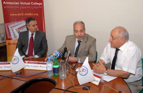 Presentation about the Armenian Virtual College