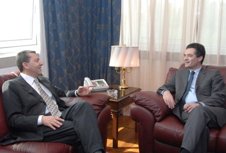 Patrick Devedjian meets the Cypriot Foreign Minister