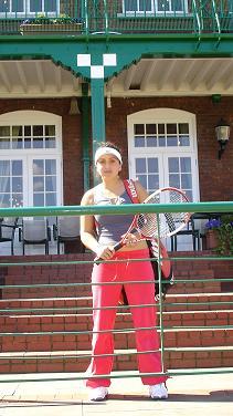 Zaruhi Harutyunyan: A future tennis star