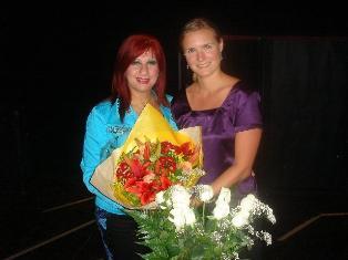 Clarissa Payne and Gulizar Jonian (left)