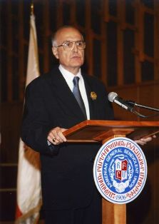 Zaven Messerlian honored with Saint Sahag – Saint Mesrob medal