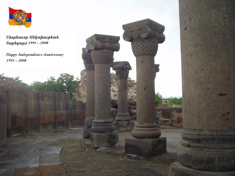Happy Anniversary Armenia